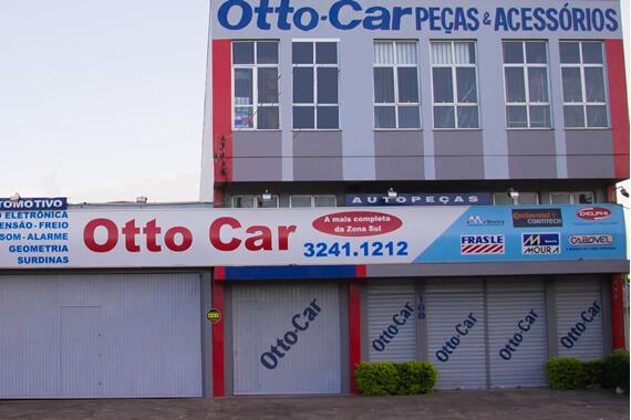 Otto Car fachada da loja