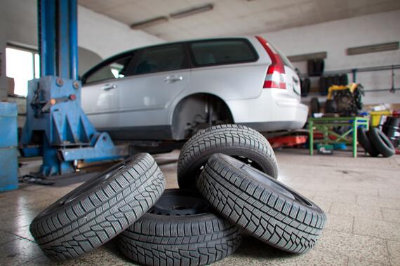 Otto Car rodizio de pneus